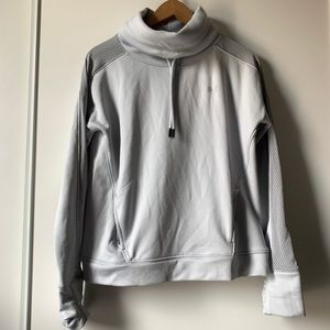 Under Armour Grey pullover cowl neck sweater small